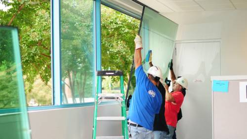 window glass repairs